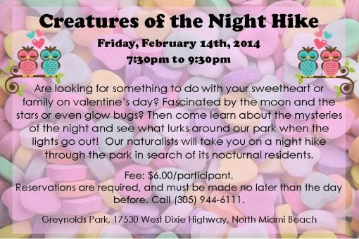 Valentine's Day - Creatures of the Night