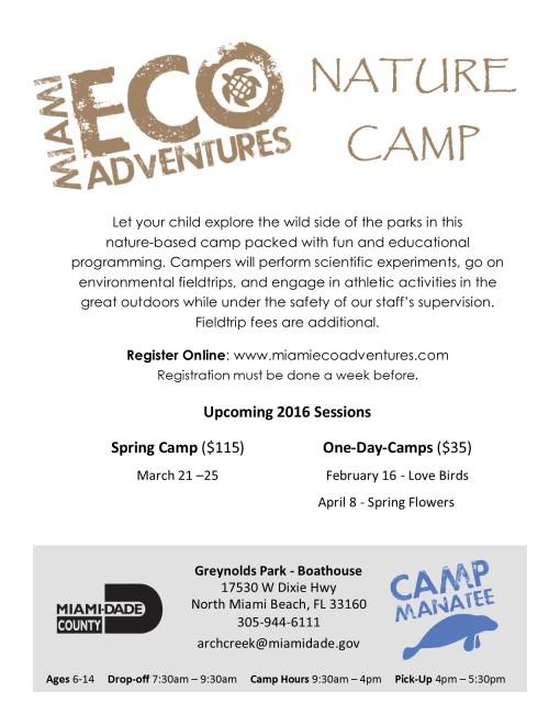 Spring Camp Flyer 2016